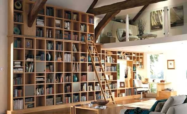Well Known Library Shelves For Home Home Library With Built In Shelves Home Pertaining To Home Library Shelving (View 8 of 15)