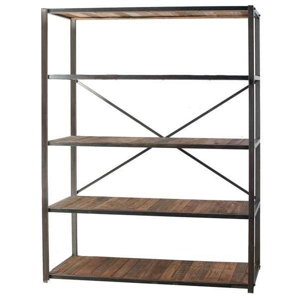 Well Known Metal And Wood Bookcases In Bookcases Ideas: Bookcases Wood Metal And Glass Crate And Barrel (View 15 of 15)