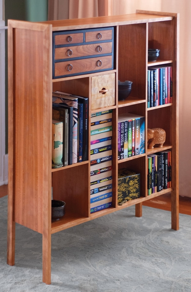 Well Known Mid Century Modern Bookcase – Popular Woodworking Magazine Regarding Mid Century Modern Bookcases (View 13 of 15)