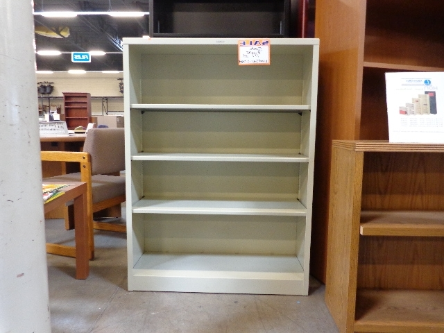 "Well Known New Hon 35"" Wide 4 Shelf Metal Bookcase Putty – Arizona Office With Regard To 4 Shelf Bookcases (View 15 of 15)"