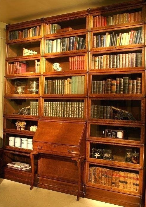 Well Known Oak Library Bookcases Pertaining To Lawyers Library Bookcase – Studenty (View 15 of 15)