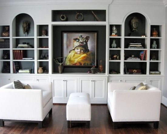 Well Known Painted Shelving Units Throughout Wall Shelves Design: Modern Ideas Wall Shelving Units For Living (View 13 of 15)