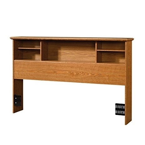 Well Known Queen Bookcases Headboard Within Amazon – Sauder Orchard Hills Bookcase Headboard, Full/queen (View 4 of 15)