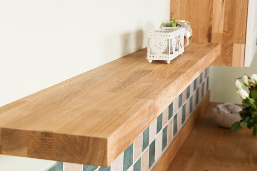 Featured Photo of Solid Oak Shelves
