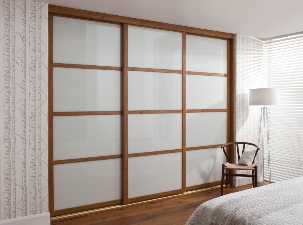 Well Known Solid Wood Fitted Wardrobes Doors Intended For Custom Sliding Wardrobe Doors Design Ideas For Bedroom – Inovatics (View 14 of 15)