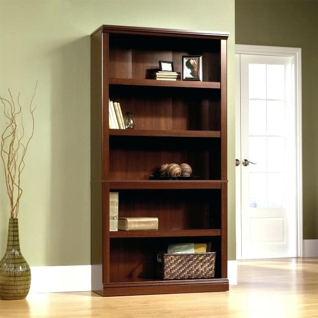 Well Known South Shore Axess Collection 5 Shelf Bookcase Black Narrow Pure For South Shore Axess Collection 5 Shelf Bookcases (View 7 of 15)