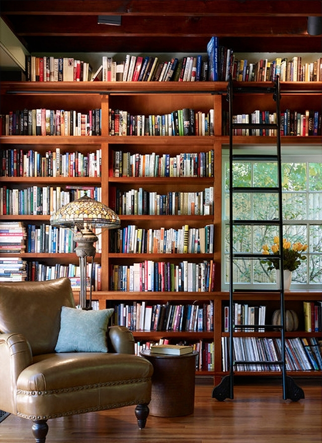Well Known Starting On The Library's Built In Bookshelves – Making It Lovely With Home Library Shelving System (Gallery 10 of 15)