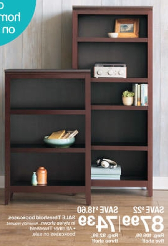 Well Known Target – Save Big On Threshold Bookcases And Pouf Ottomans Today Pertaining To Target Bookcases (View 14 of 15)
