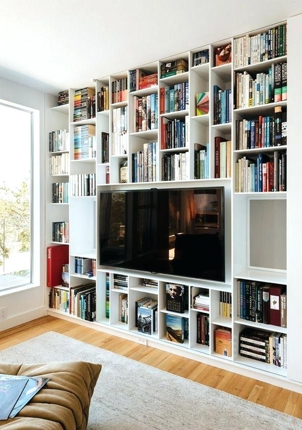 Well Known Tv Cabinet Bookcase Living Room Furniture Collection 2 Including For Tv Bookcases Combination (View 15 of 15)