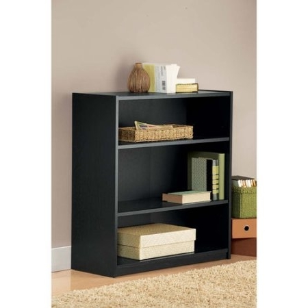 Well Known Uncategorized: Awasome Black Bookshelf Walmart Bookshelves At Pertaining To Walmart Bookcases (View 14 of 15)