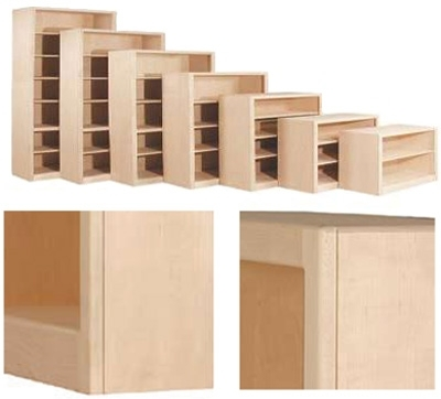 Well Known Unfinished Bookcases With Contemporary Bookcase Collection: Unfinished Furniture (View 12 of 15)