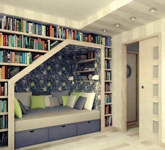Well Known Unique Bookcases Designs Within Bookcases Ideas: Cool Home Bookcases – 10 Brilliant Bookcase (View 15 of 15)