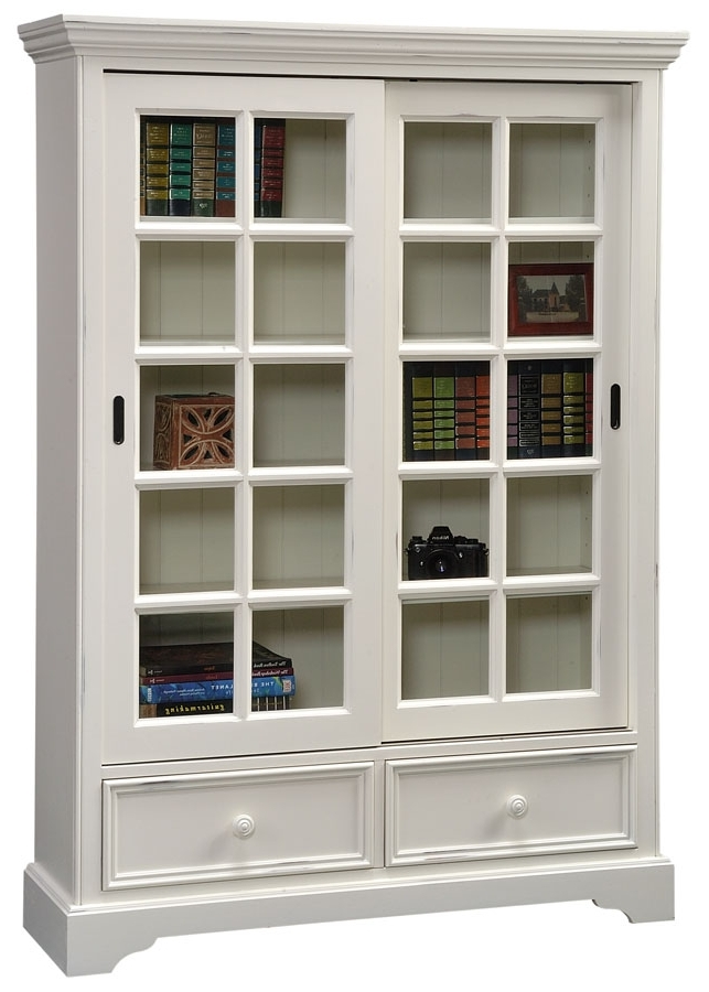 Well Known White Bookcases With Doors For Hoot Judkins (View 11 of 15)