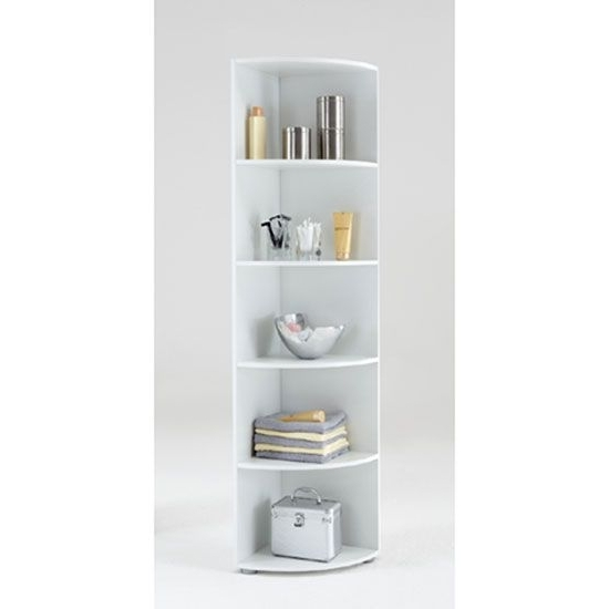 Well Known White Corner Bookcases In Corner Bookcase : A Special Place For Your Hobby (View 2 of 15)