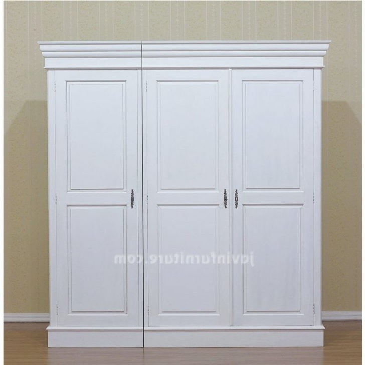 Well Known White Wardrobes Armoire Throughout Furniture : Wardrobe Cabinets With Doors Buy Wardrobe Closet Short (View 9 of 15)