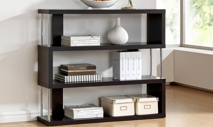 Well Known Zig Zag Bookcases Within Zig Zag Shelves (View 11 of 15)