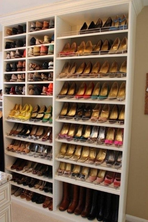 Well Liked 145 Best Shoe Closet Images On Pinterest (View 1 of 15)