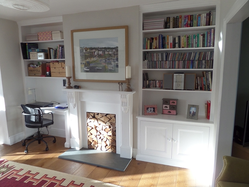 Well Liked Alcoves – James Houseman With Alcove Bookcases (View 14 of 15)