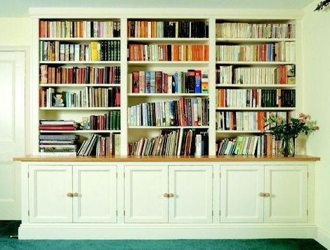 Well Liked Bespoke Bookshelves Regarding Welcome To The Hungerford Bookcase Company (View 14 of 15)
