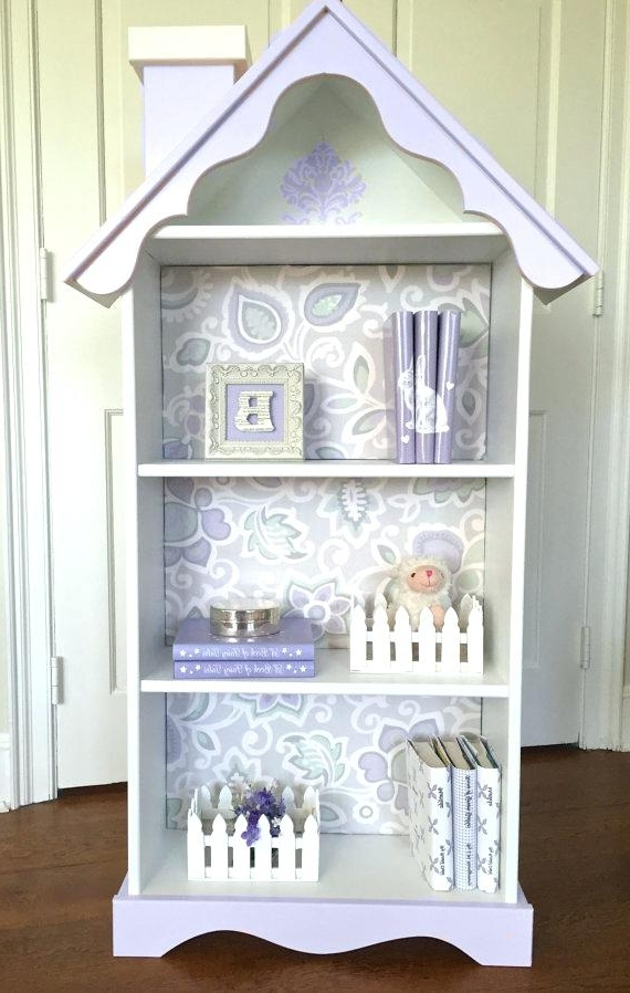Well Liked Bookcase ~ Nursery Bookcase White Childrens White Wooden Bookshelf Pertaining To Very Small Bookcases (View 13 of 15)