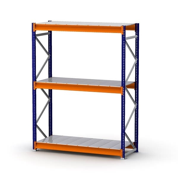 Well Liked Bulk Rack Shelf Unit With Steel Decking – Shelving Direct Intended For Storage Shelving Units (View 15 of 15)