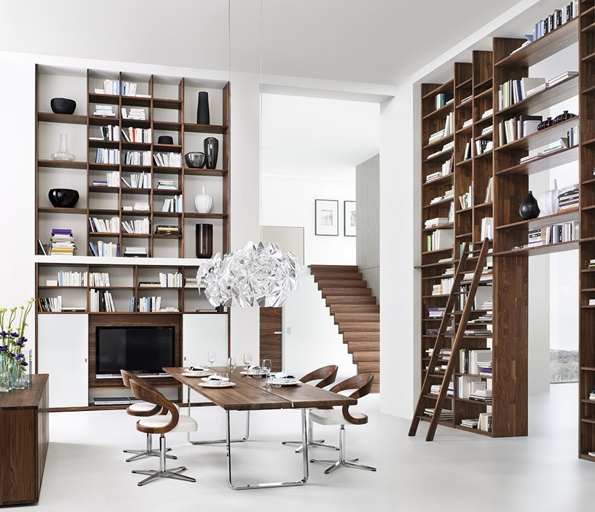 Well Liked Contemporary Bookcases With Luxury Contemporary Bookcases – Cubus – Team  (View 15 of 15)