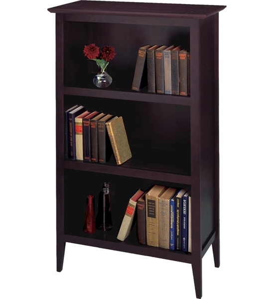 Well Liked Dark Espresso Book Shelf In Bookcases For Espresso Bookcases (View 15 of 15)