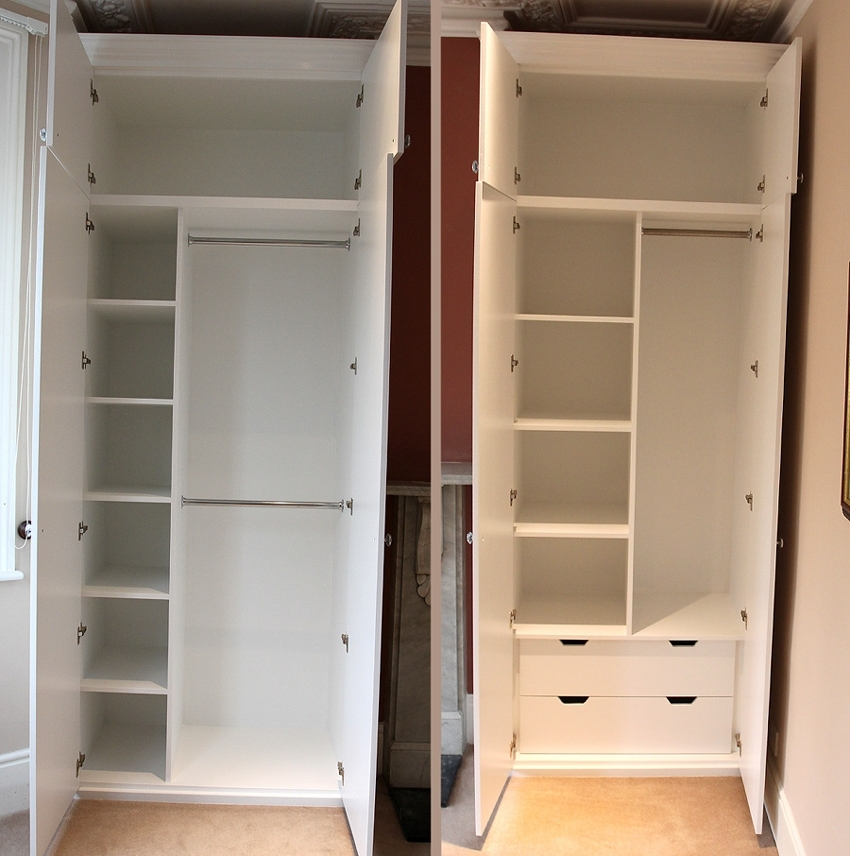 Well Liked Fitted Wardrobes, Bookcases, Shelving, Floating Shelves, London With Wardrobe With Shelves And Drawers (View 13 of 15)