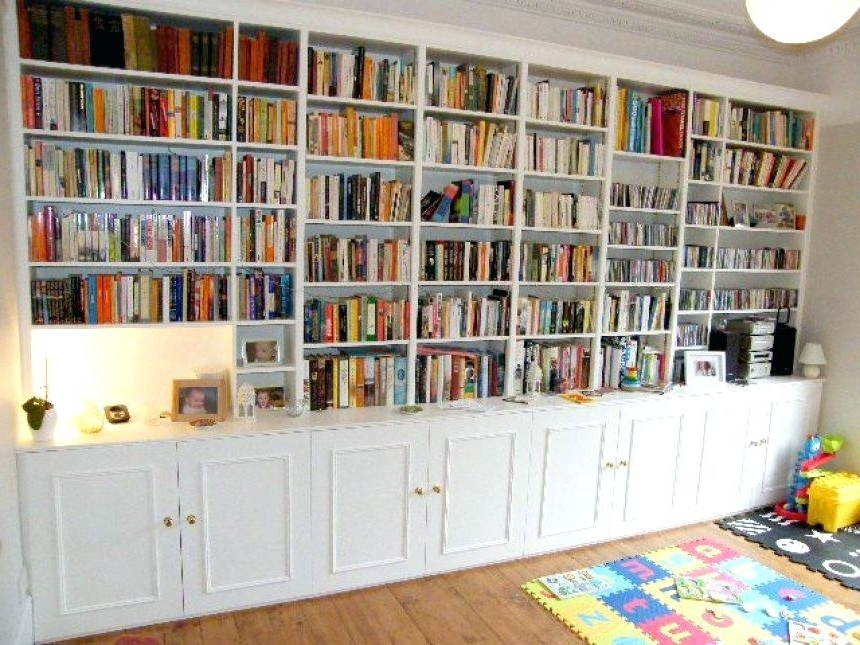Well Liked Full Wall Bookshelf Love The Huge Wall To Wall Bookcases In This Throughout Full Wall Bookshelves (View 14 of 15)