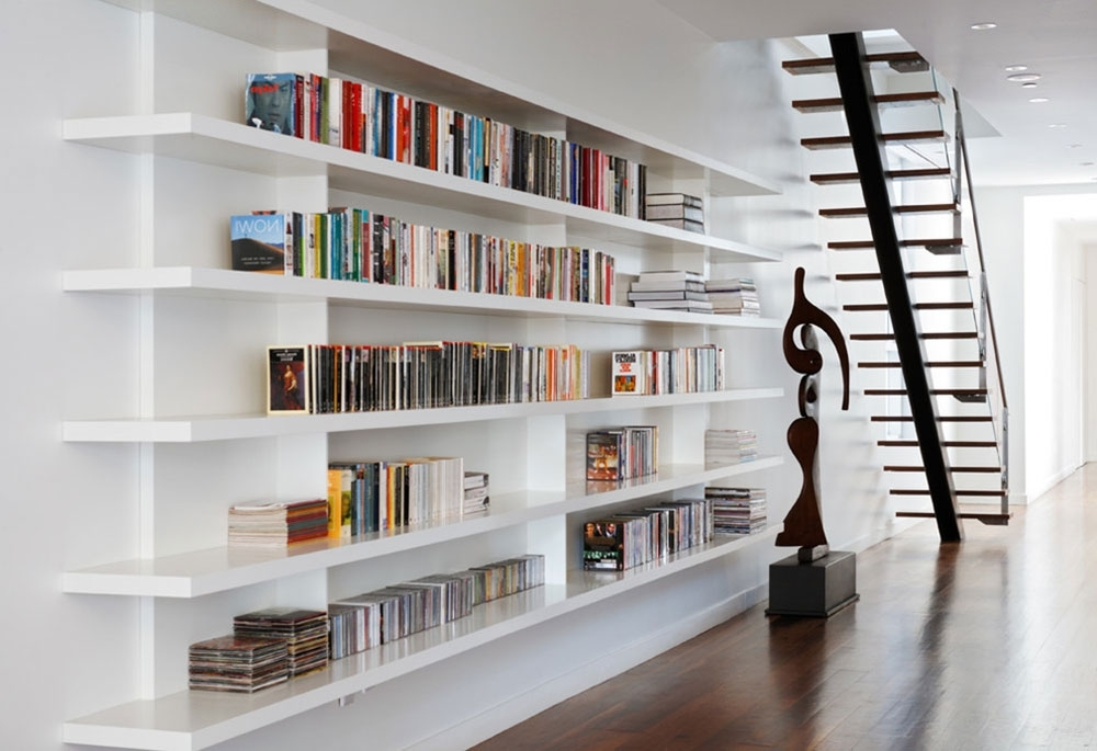 Well Liked Home Library Shelving In Bookshelf Ideas That Will Give Your Library A Fantastic Look (View 15 of 15)