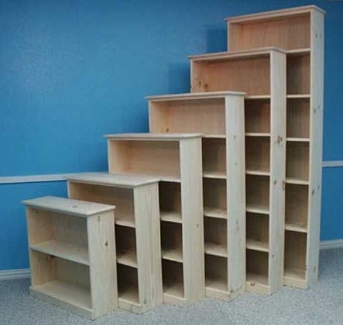 Well Liked Quality Wood Furniture Unfinished Bookcases Leesville Louisiana With Regard To Unfinished Bookcases (View 14 of 15)