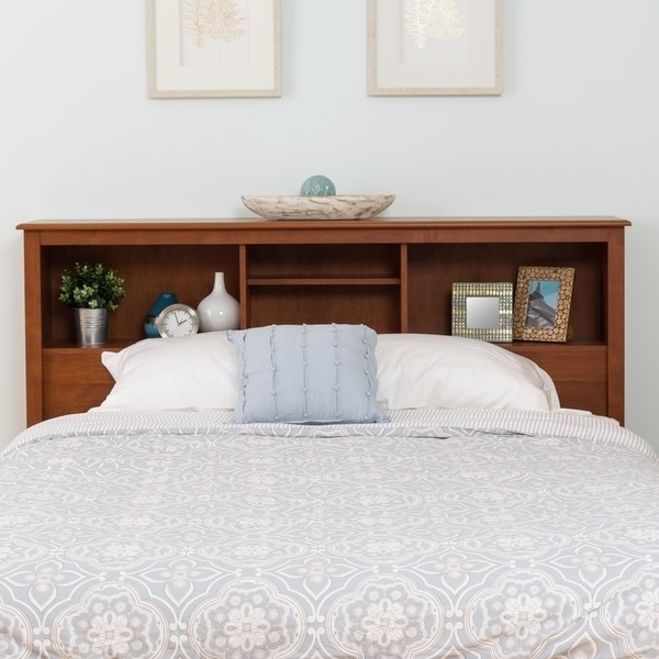 Well Liked Queen Bookcases Headboard With Regard To Monterey Full/queen Bookcase Headboard – Free Shipping Today (View 9 of 15)