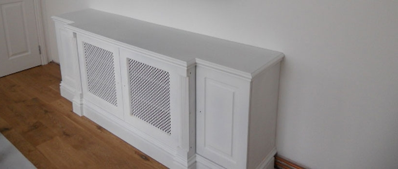 Well Liked Radiator Cover Shelf Unit Throughout London Radiator Cover, Covers, Alcoves And Bookshelves (View 15 of 15)