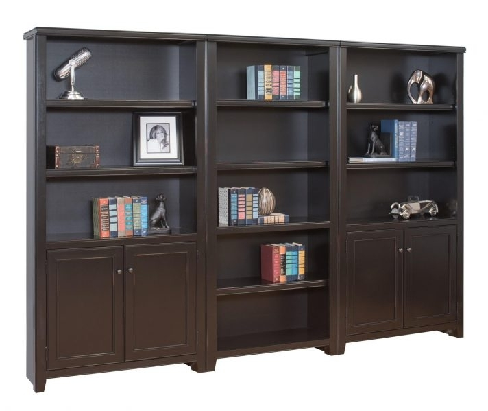 Well Liked Short Bookcases With Regard To Short Bookcases With Wood Doorsshort Glass White And Cabinets (View 15 of 15)