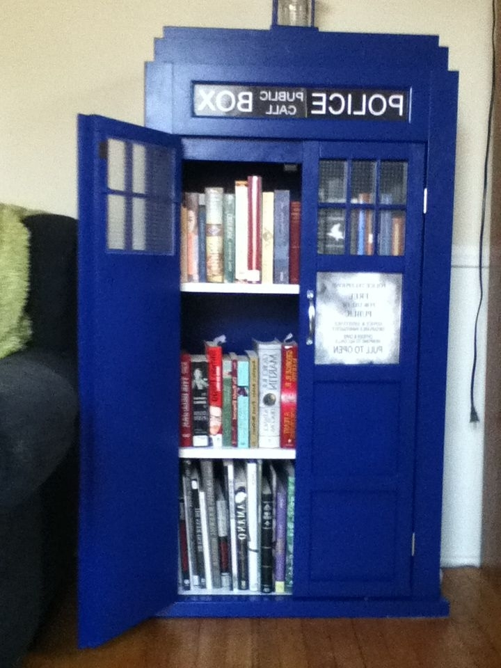 Well Liked Tardis Bookcases For Doctor Who Tardis Dvd Cabinet (View 14 of 15)