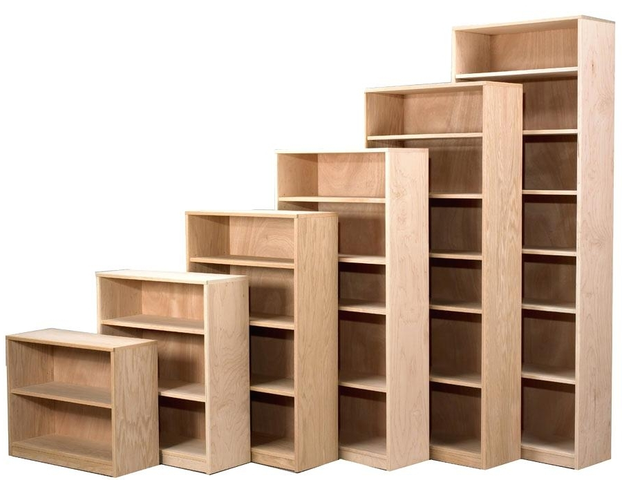 Well Liked Unfinished Bookcases Pertaining To Unfinished Bookcases – 8Libre (View 15 of 15)