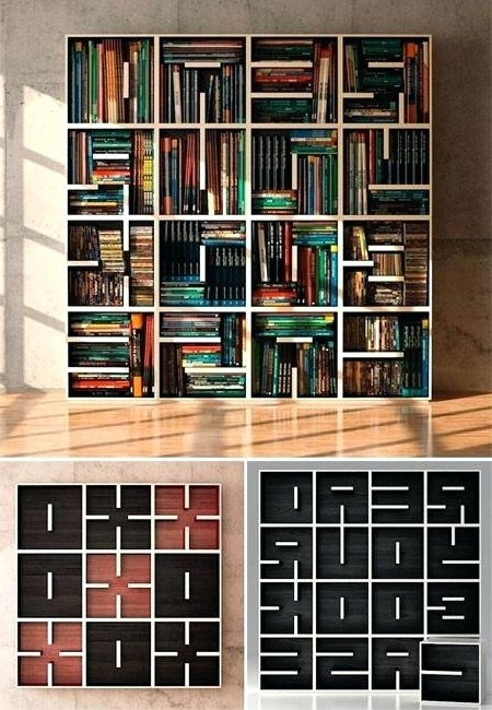 Well Liked Unique Bookcases For Unique Bookcases Unique Bookshelves – Realvalladolid (View 14 of 15)