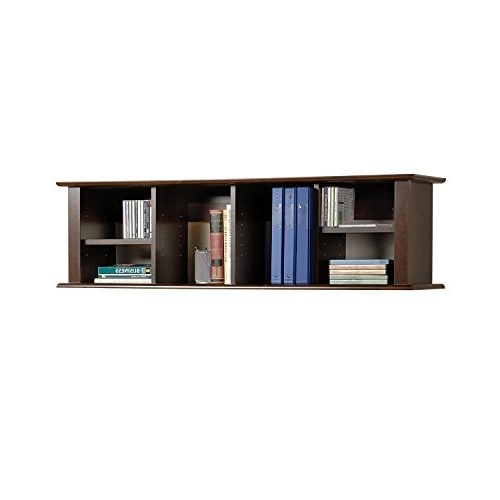 Well Liked Wall Mounted Bookcases: Amazon Throughout Wall Mounted Bookcases (View 14 of 15)