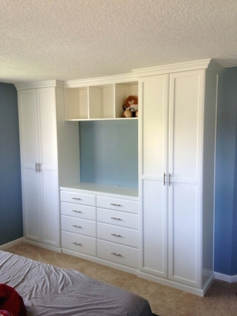 Well Liked Wardrobes ~ Fitted Wardrobe With Tv Space Bedroom Wardrobe With Tv With Regard To Built In Wardrobes With Tv Space (View 4 of 15)