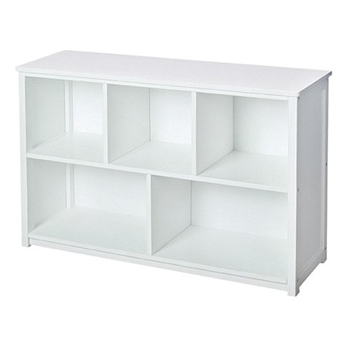 Well Liked White Bookcases Throughout Guidecraft Classic White Bookshelf (View 10 of 15)