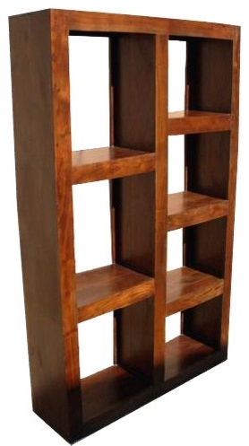 Well Liked Wood Bookcases With Regard To Sierra Living Concepts – Santa Fe Wood Open Back Bookcase Room (View 13 of 15)