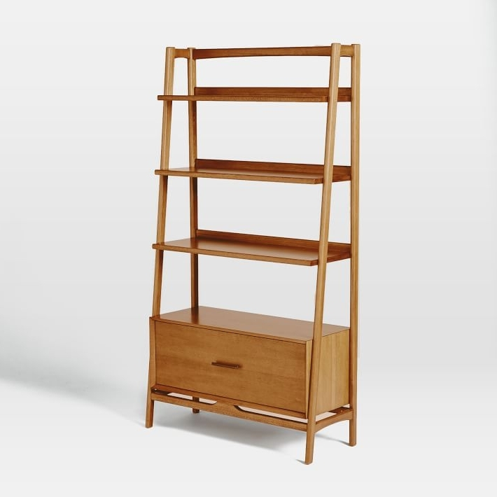 West Elm For Fashionable Midcentury Bookcases (View 5 of 15)