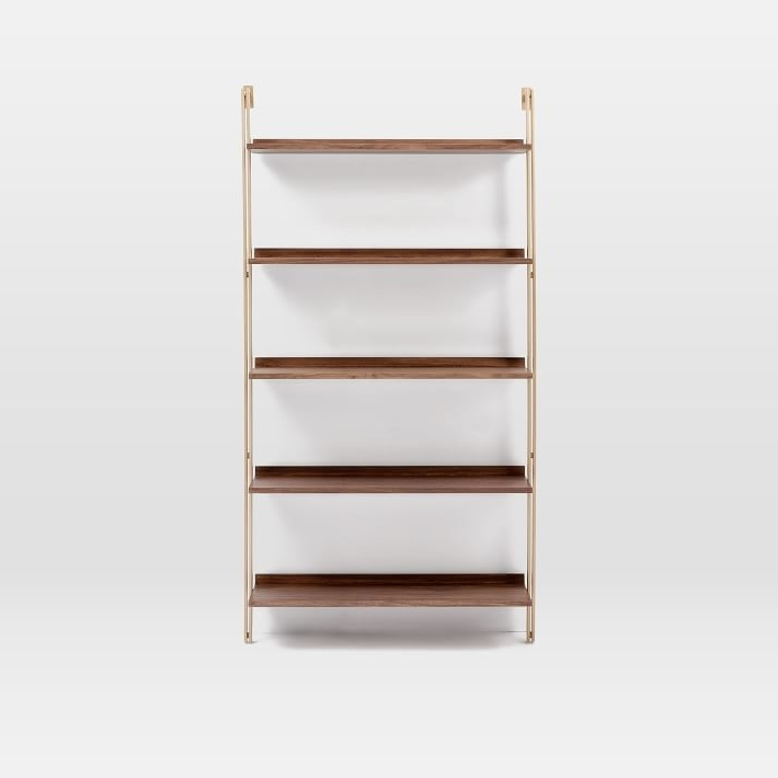 West Elm With Regard To Brass Bookcases (View 15 of 15)