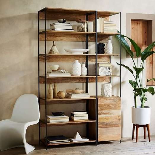 West Elm With Regard To Newest Industrial Bookcases (View 12 of 15)