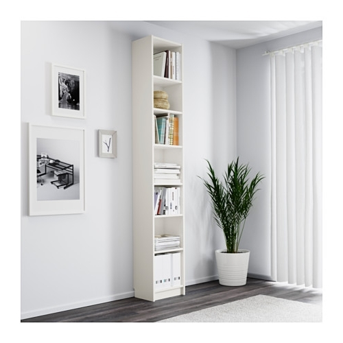 White Billy Bookcases Pertaining To Current Billy Bookcase – White – Ikea (View 12 of 15)