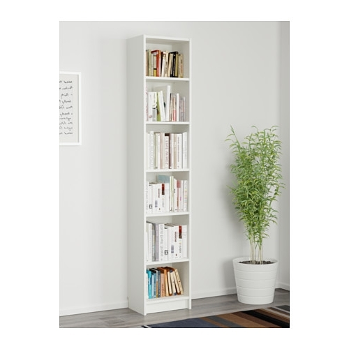 White Billy Bookcases With Regard To Fashionable Billy Bookcase – White – Ikea (View 14 of 15)