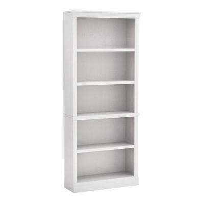 White – Bookcases – Home Office Furniture – The Home Depot Pertaining To Newest White Bookcases (View 11 of 15)