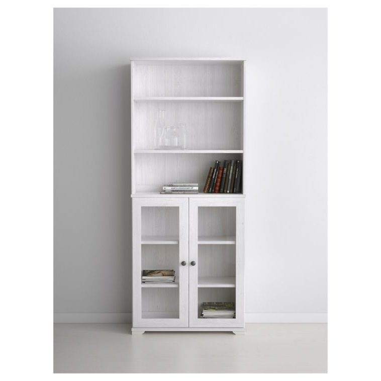 White Bookcases With Cupboard Within Famous Furniture (View 15 of 15)