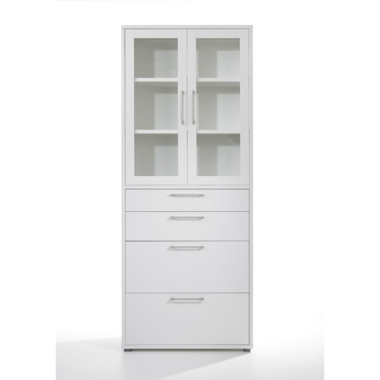 White Bookcases With Doors In 2018 Bookcases With Doors And Drawers White Tall Narrow Bookcase (View 13 of 15)