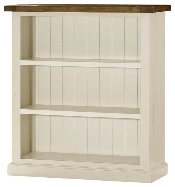 White Bookcases With Regard To Most Popular Hillsdale Tuscan Retreat 3 Shelf Bookcase, Country White (View 5 of 15)